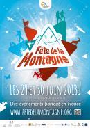 Les 29 et 30 juin 2013, c'est la première Fête de la Montagne !